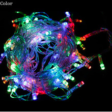 1set & 5M 50 LED Battery Operated LED String Lights for Xmas Garland Party Wedding Decoration Christmas Flasher Fairy Lights