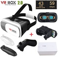 "Original Google Cardboard VR BOX II 2.0 VR Virtual Reality 3D Glasses For 4""-6""3d mobile phone games Smartphone helmet virtual"
