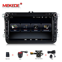 Android 8.0 8 Inch Car DVD Player For VW/Volkswagen/POLO/PASSAT/Golf/TOURAN/SHARAN Quad Core Wifi USB GPS Navigation Radio
