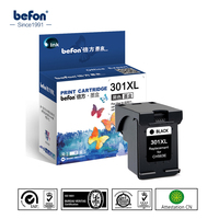 Befon Black 301XL Re Manufactured Cartridge Replacement For HP 301 Ink Cartridge For DeskJet 1050 2050