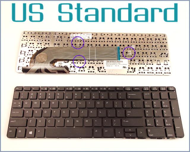 Versión ee. uu. inglés teclado para hp probook 450 g0 455 g1 470 g0 727682-001 mp-12m73us-422 mp-12m7 721953-001 del ordenador portátil