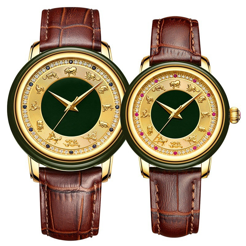 2020 Special Offer Hot-selling Chinese Twelve Zodiac Couple Watches A Pair Of Fully Automatic Mechanical Customized Wholesale