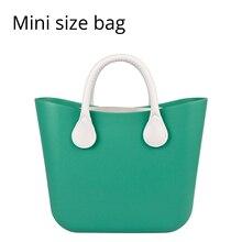 71e7c362f 2018 nuevo Mini bolsa de EVA con colorido de EVA de caucho de silicona Obag  O estilo de bolsa impermeable bolsa de mujeres bolso