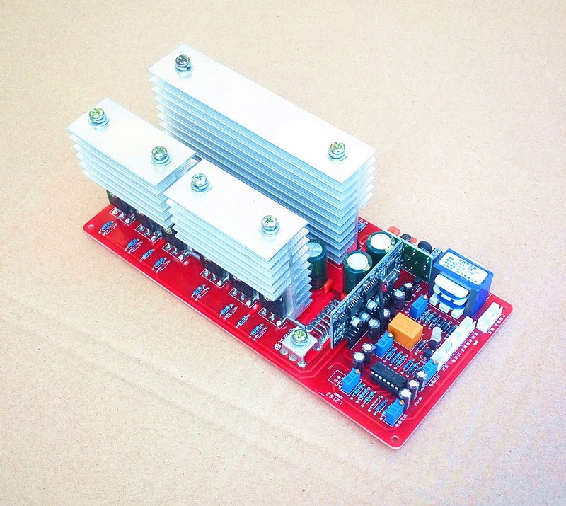 High Power Frequency Pure Sine Wave Inverter Drive Main Board 3000W 5000W 6500W Product Board Suite 12v24v36v48v60v drive board pcb of the main board of a pure sinusoidal high power power frequency transformer inverter