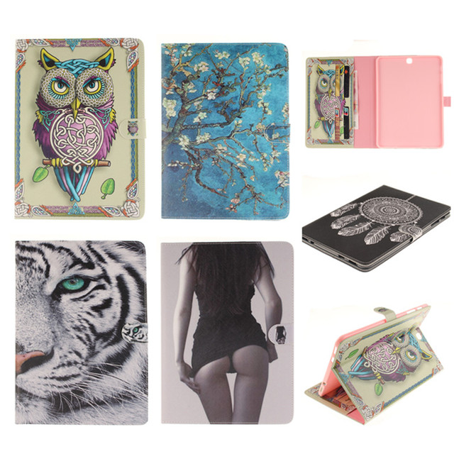 Leather case For samsung galaxy Tab S2 9.7 SM-T810 T815 9.7″ tablet