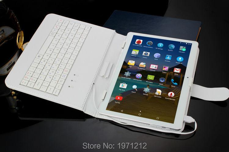 10.1 אינץ 3G 4G LTE tablet pc אוקטה core 1280*800 5.0 MP 4GB 32GB אנדרואיד 5.1 Bluetooth GPS tablet 10 עם מקלדת