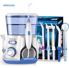 Waterpulse V300 Oral Irrigator Dental Water Flosser 800ml Oral Hygiene Water Flossing 5pcs Nozzles