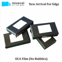 Novecel New Arrival 50pcs 150um OCA Optical Clear Adhesive For Samsung S7 Edge S8 S8 Note