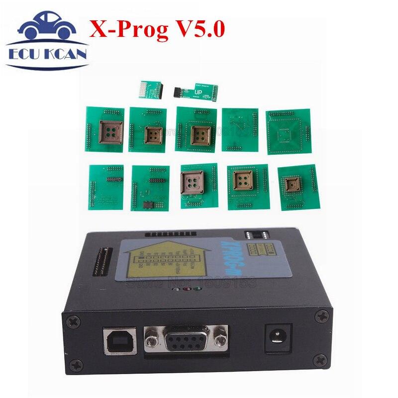 Metal Full Adaptors XPROG M V5 0 Metal Full Adaptors XPROG M Programmer Xprog 5 0