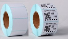 15 rolls POS thermal label paper size 40x30mm use for Thermal printer Labels blank stickers (total 12000 labels)