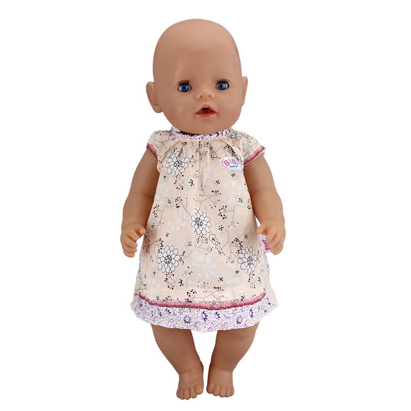 New Leisure Dress Doll Clothes Wear for 43cm Baby Born zapf, Children best Birthday Gift цены онлайн