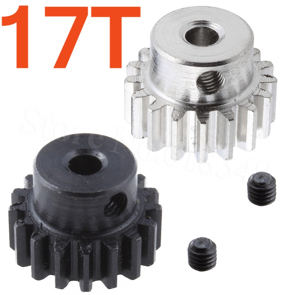 Metal Motor Pinion Gear 17T 0088 3.175mm Hole For WLtoys 12428 12423 1/12 RC Car Crawler Short Course Truck Upgrade Parts