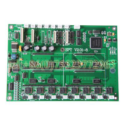 Challenger / Infiniti FY-3278F / 3208F / 3208A Printers Printhead Board infiniti printer spare parts fy 3286t printhead converting board
