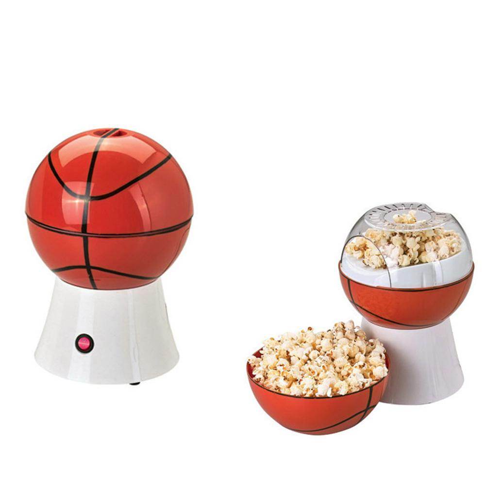 Adoolla 220V Household Basketball-shape Electric Heat Popcorn Maker Popcorn Machine European Specification-25 pop 08 commercial electric popcorn machine popcorn maker for coffee shop popcorn making machine