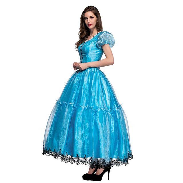 Online Shop Adult Alice in Wonderland Costume Movie Cosplay Princess ...