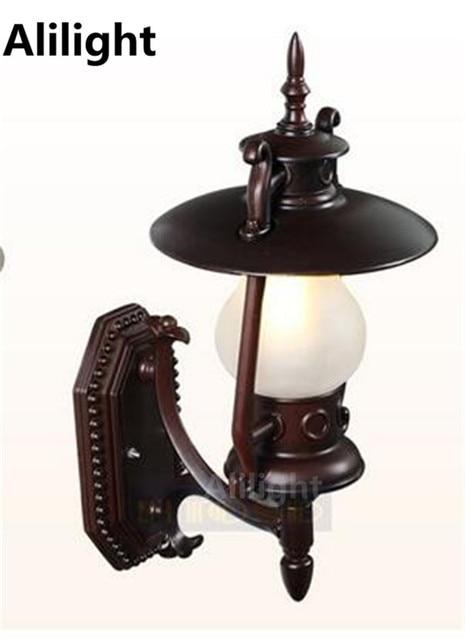 flur wandlampen american country rustikale reine kupfer wandleuchte korridor flur wandlampen. Black Bedroom Furniture Sets. Home Design Ideas