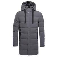Fashion Men Jacket Coat New Arrival 2019 Waterproof Cool Parkas Winter Punk Rock Warmer Male Jackets Coat Harajuku Clothing Tops