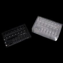Горячая 20 шт./лот одноразовые пластиковые татуировки лоток картриджа иглы держатель стенд лотки пластины