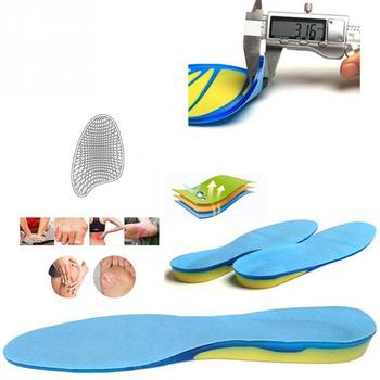 Silicon gel insoles foot care for
