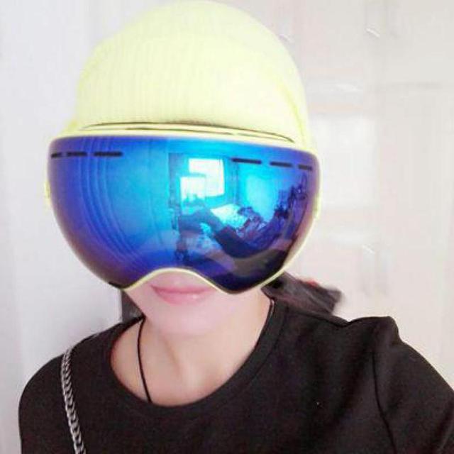 buy snow goggles  Aliexpress.com : Buy Big Glasses Skiing Snowboard Men Women Snow ...