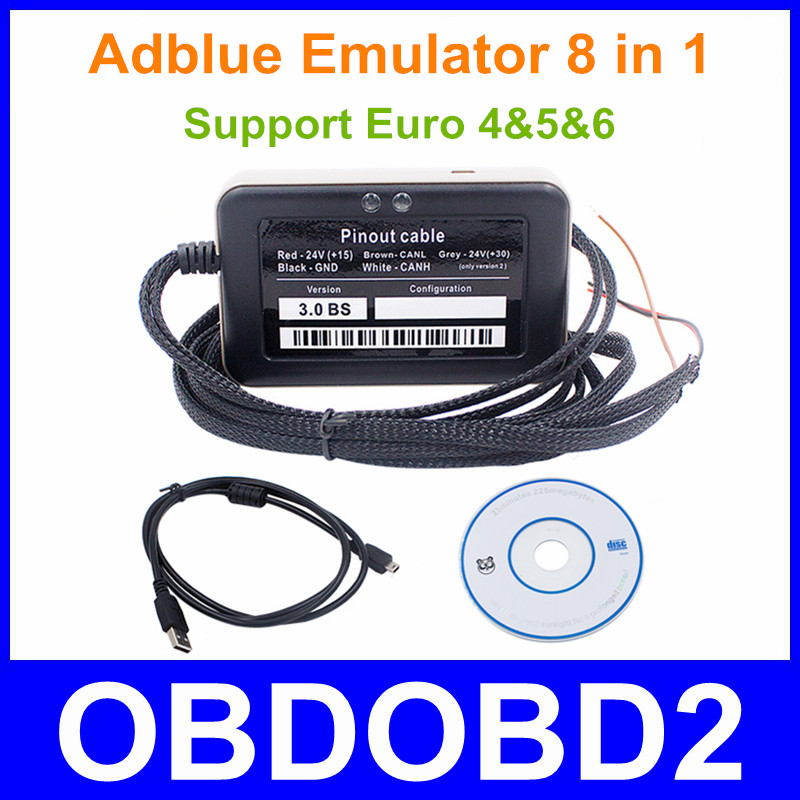 Newest Type Adblue Emulator Remove Tool 8 In 1 V3 0 Support Euro 4 5 6