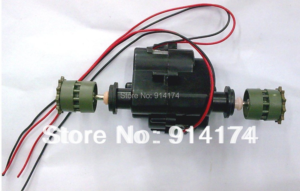 henglong 1/24 RC tank 3808 3809 3816 parts Drive system/driving gear box free shipping henglong 3869 3879 3888 3899 rc tank 1 16 parts steel drive system driving gear box free shipping