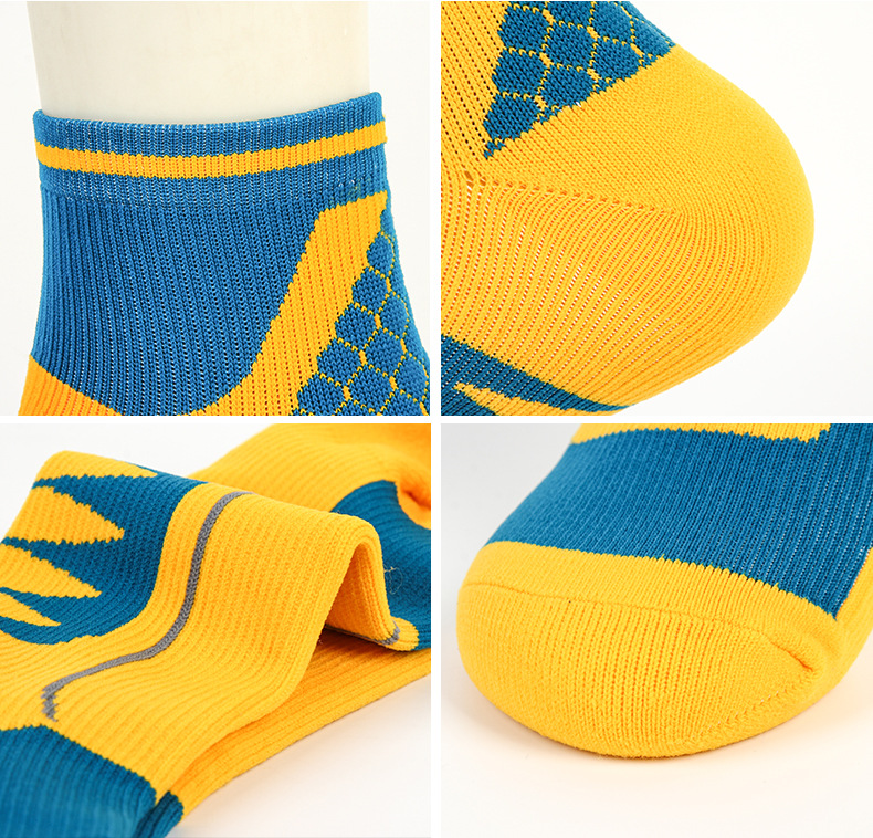 running - Outdoor Hiking Basketball Socks Sport Running Cycling Football Camping Anti Slip Men Women Moisture Wicking Seamless Athletic