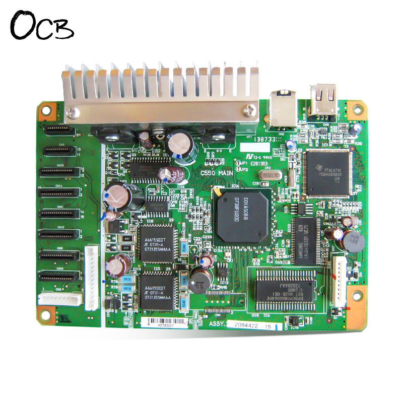 Original C550MAIN Mainboard Main Board For Epson Stylus Photo R800 Printer Formatter Board for epson stylus photo r230 mainboard