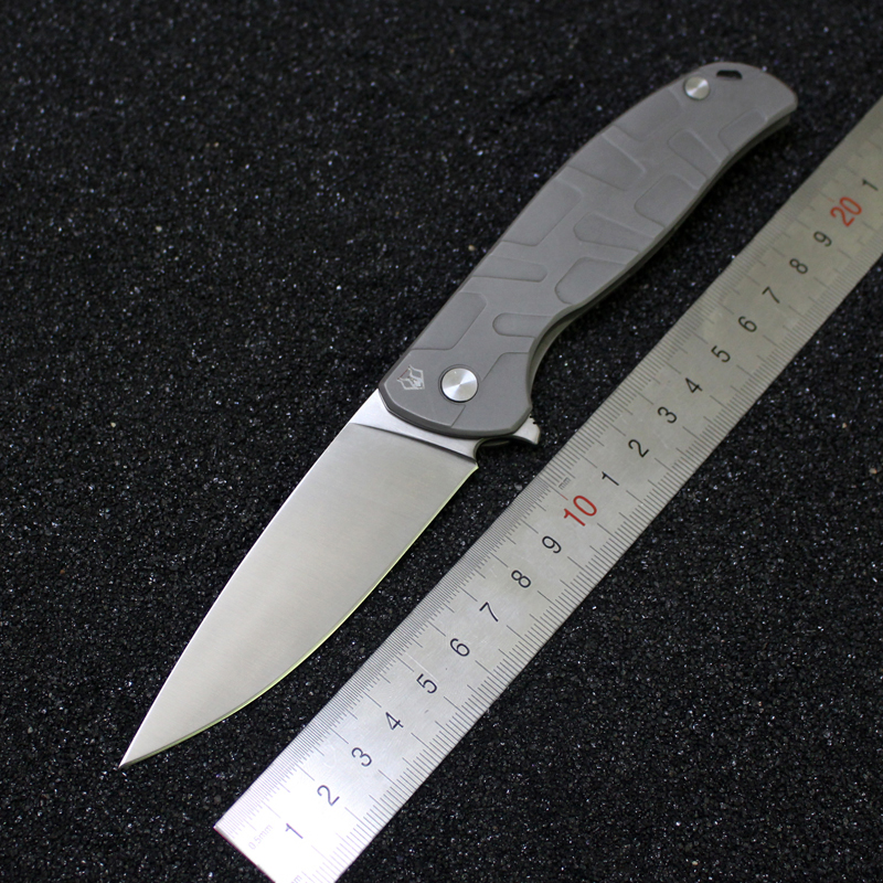 GP Brand Custom F95 Folding font b Knife b font Ball Bearings Flipper font b Knife