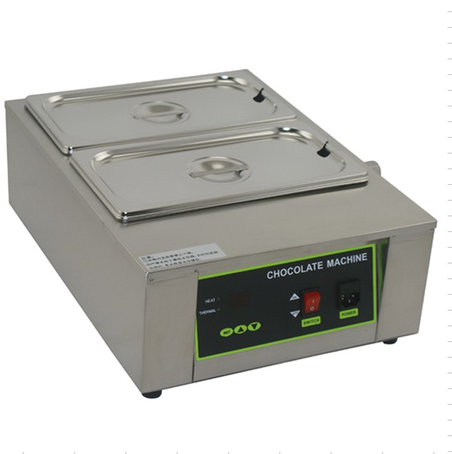 2 tank for  commercial use  butter melting furnace Chocolate melting machine