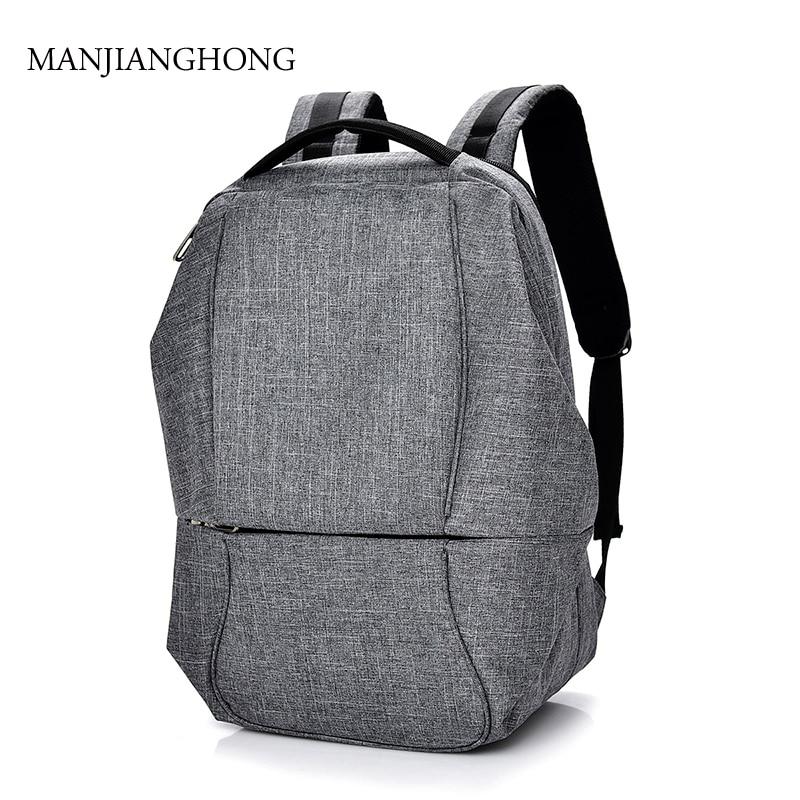 2018 New Canvas Mens Backpack Bag Brand Unisex Laptop Notebook Mochila for Men Waterproof Back Pack Women school backpack bag