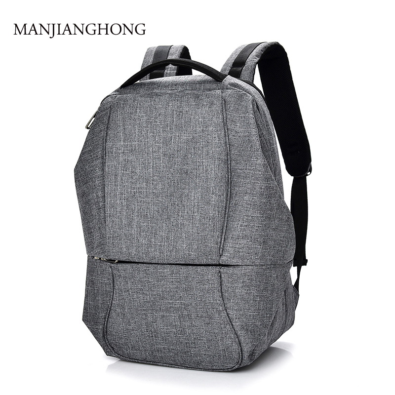 2019 New Canvas Men's Backpack Bag Brand Unisex Laptop Noteb