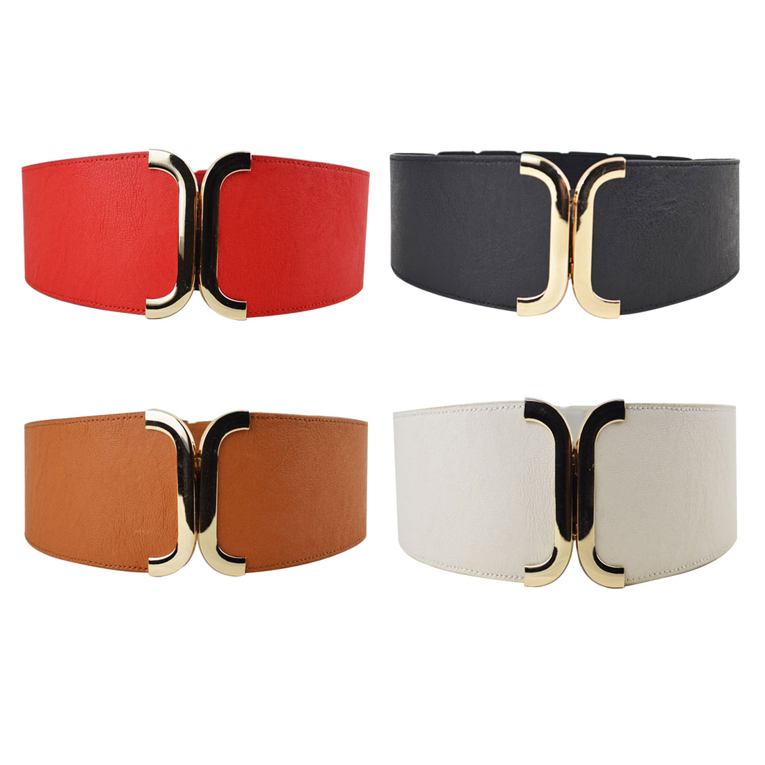 Hot Women Brief   Belt   Female Wide   Belt   Decoration Elastic Fashion Cummerbund Strap All-Match Lady'S Waist   Belts   For Women
