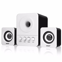 SADA USB2 1 3 5mm Audio Interface Speaker Stereo Subwoofer Audio Portable Speakers For Computer Desktop