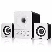 SADA USB2 1 3 5mm Audio Interface Speaker Stereo Subwoofer Audio Portable Speakers For Computer Desktop