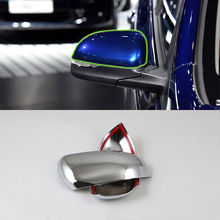 Car Accessories Exterior Decoration ABS Chrome Rearviews Mirrors Cover Trim For Kia K2/Rio 2017 Styling