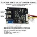 ACS712ELC-20A Sensibilidad $ number mv/A (módulo de corriente ALTERNA y Corriente CONTINUA)-20A-20A AD convertidores de Detección de Sobrecorriente
