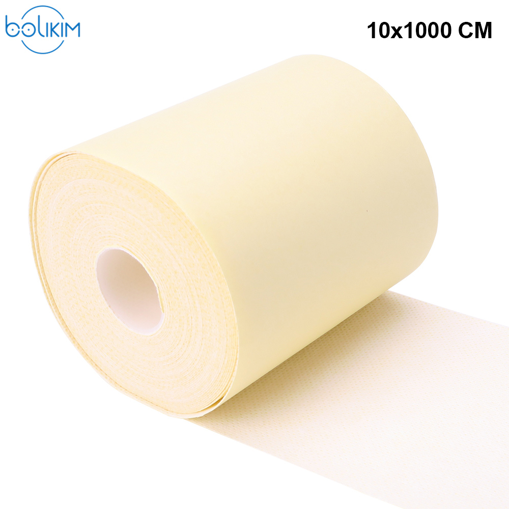 Bolikim 10x1000CM Medical Adhesive Tape Non-Woven Tape Sticking On The Self-Adhesive Medical Tape Dressing Breathable Paste Tape 1pcs self adhesive non woven 5cmx4 5m camouflage wrap rifle hunting shooting cycling tape waterproof camo stealth tape