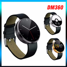 10pcs lot DM360 Waterproof Bluetooth Smart Watch Heart Rate Monitor font b Smartwatch b font Wrist