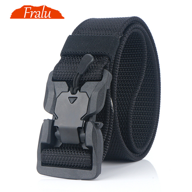 Tactical Army Hunting Hiking Soft Waist Band Utility Belt With Plastic Buckle GM