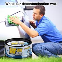 White Car Ash Crystal Paint Scratch Repair Wax Care Surface Decontamination Waterproof Hard