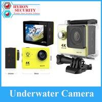 هيبون في الهواء الطلق كامارا عمل خوذة كام DVR 30 متر مقاوم للماء واي فاي برو تحت الماء الرياضة كاميرا المياه Pesce في Legno