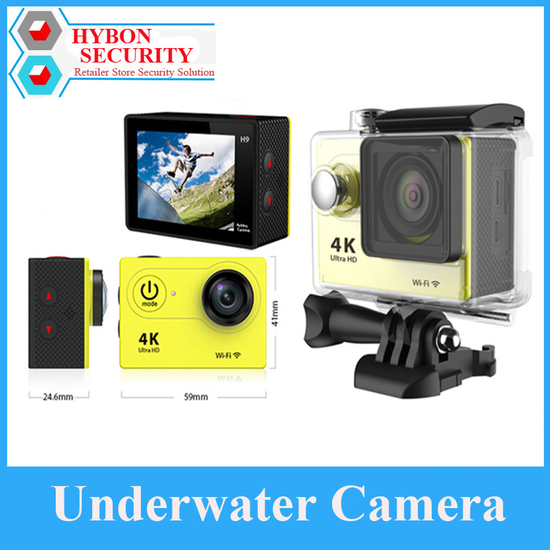 HYBON Outdoor Action Camera Helmet Cam DVR 30 Meters Waterproof WIFI Pro Underwater Waterproof Sport Camera Pesce In LegnoHYBON Outdoor Action Camera Helmet Cam DVR 30 Meters Waterproof WIFI Pro Underwater Waterproof Sport Camera Pesce In Legno