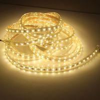1 M/2 M/3m/5 M/6 M/8 м/10 м/15 м/20 м SMD 5050 AC220V Светодиодные ленты гибкий свет 60 Светодиодный s/M Водонепроницаемый Светодиодная лента свет