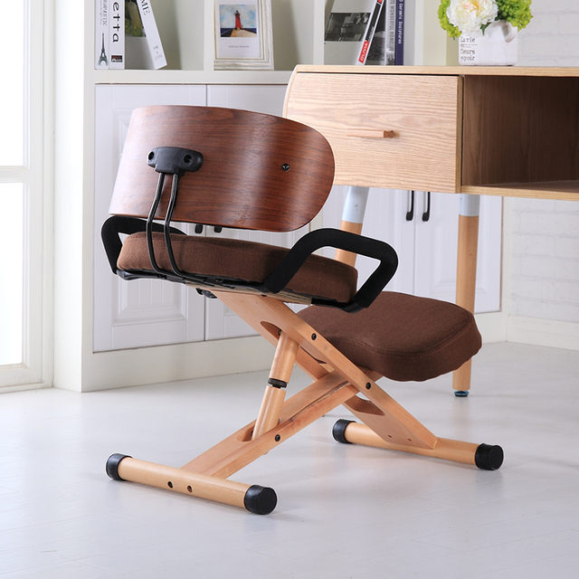 Ergonomic Kneeling Chair with Back and Handle 4