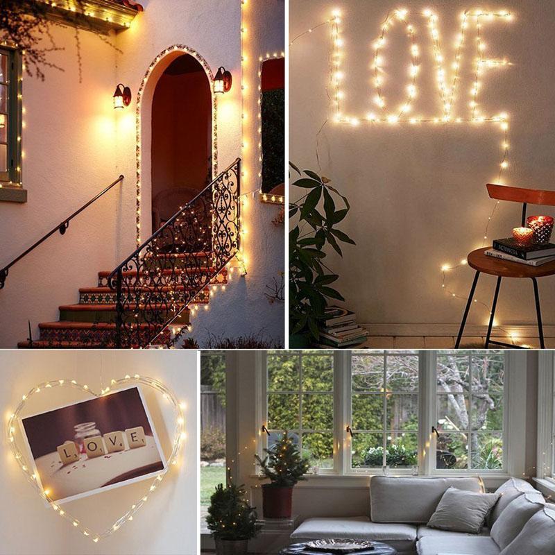 OSDEN 5M 10M 33Ft Corzi DC Lumini LED-uri de Crăciun în aer liber - Iluminat exterior - Fotografie 5