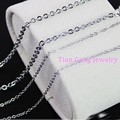 "16""-40""1/2/3mm Hot 5/10/20/100pcs/Lot Wholesale Womens Mens DIY Jewelry 316L Stainless Steel Silver Cross Link Necklace In Bulk"