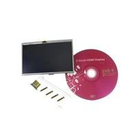 Raspberry Pi 2 Model B B 5 Inch LCD HDMI Touch Screen Display Module TFT LCD