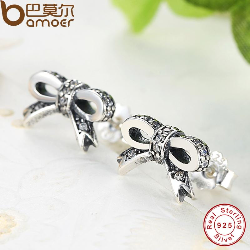 like new girl silver party delicate stud simple pin korean stylish allergy anti sterling earrings fashion