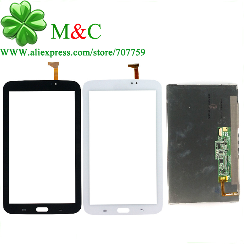 OGS T210 LCD Touch Panel For Samsung Galaxy Tab 3 7.0 SM-T210 T210 LCD Display Touch Screen Digitizer Panel With Tracking
